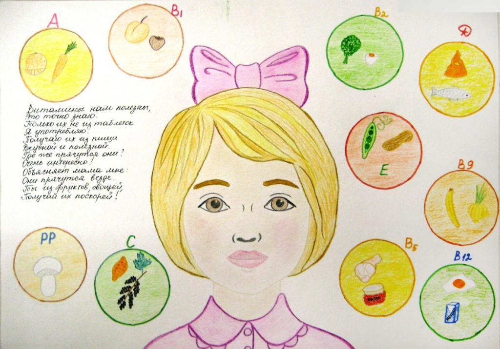 Рисунки по теме здоровья глазами детей