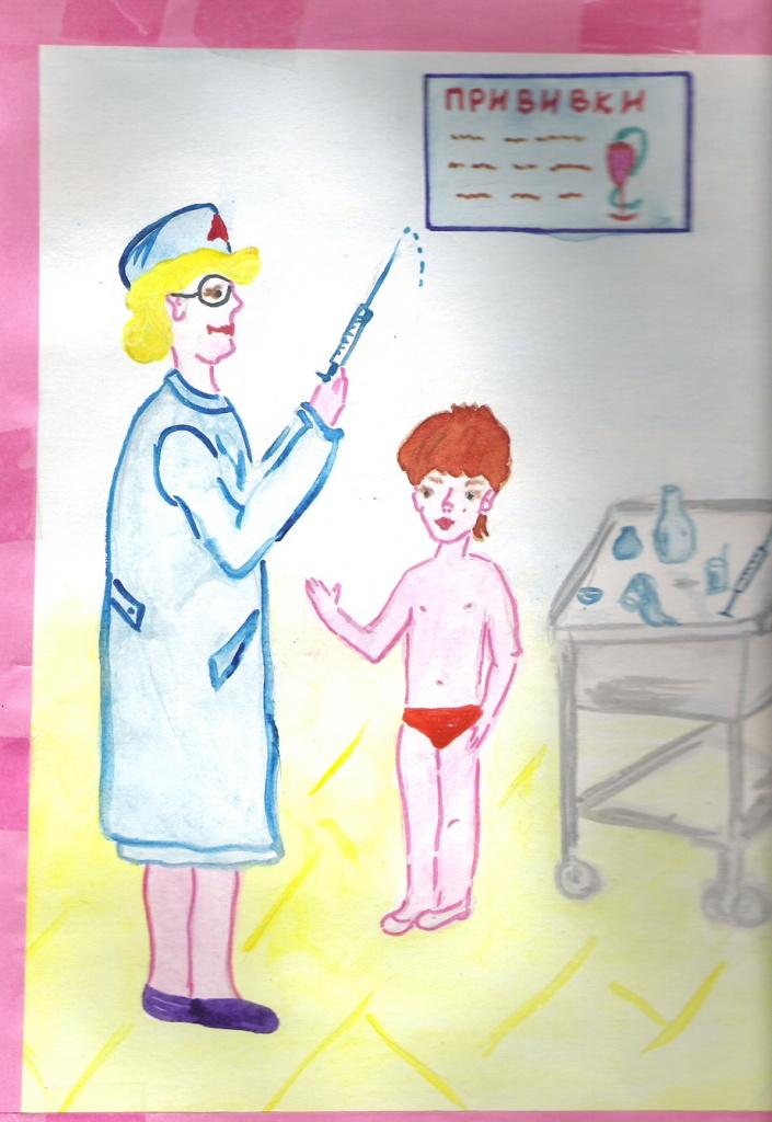 """""""Я прививок не боюсь, если надо – уколюсь!"""", Разживина Елизавета"""
