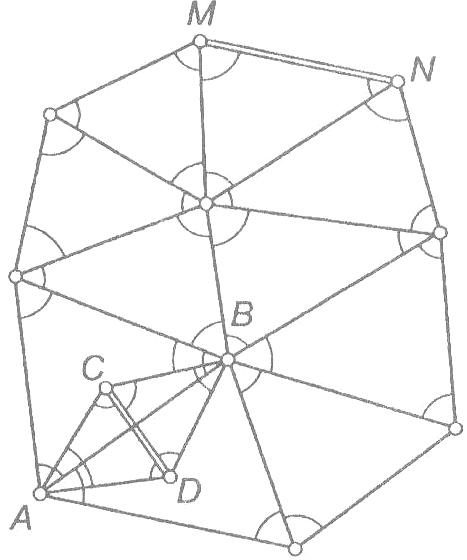 Государственная геодезическая сеть опорная межевая сеть съемочные сети