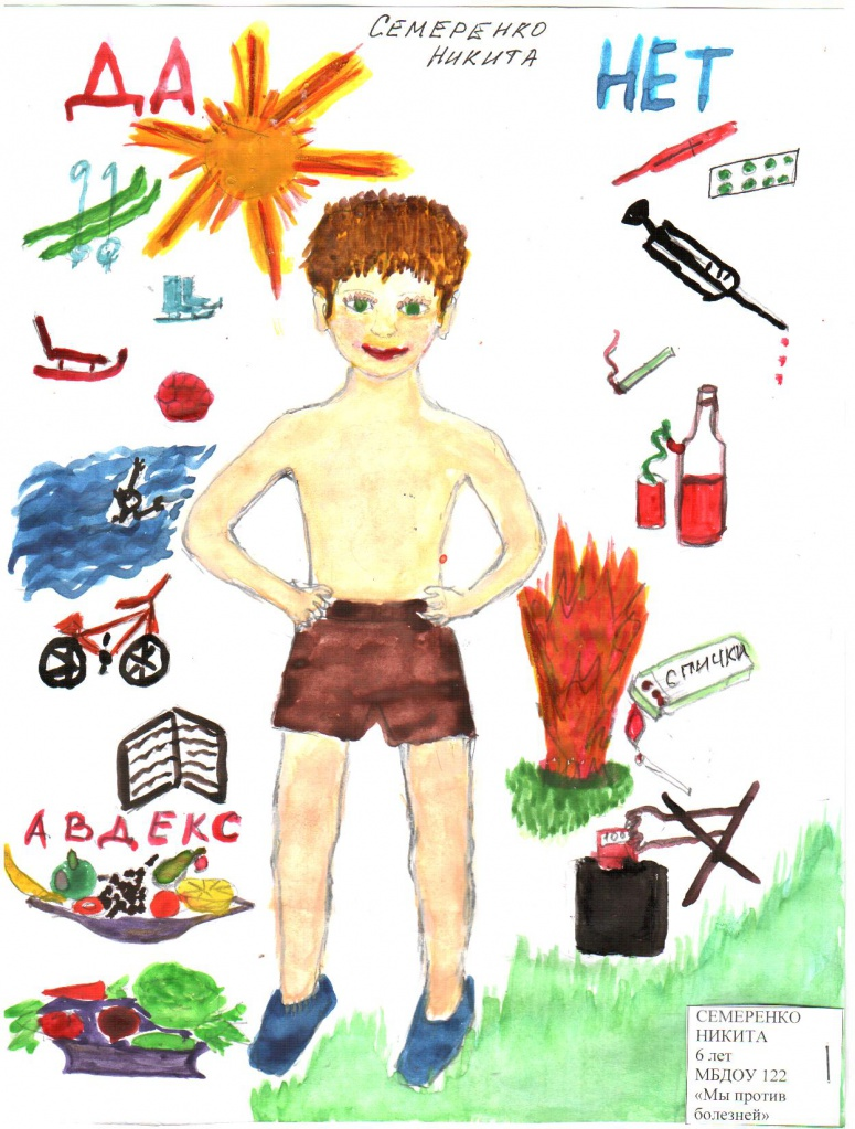 Контуры для детских рисунков