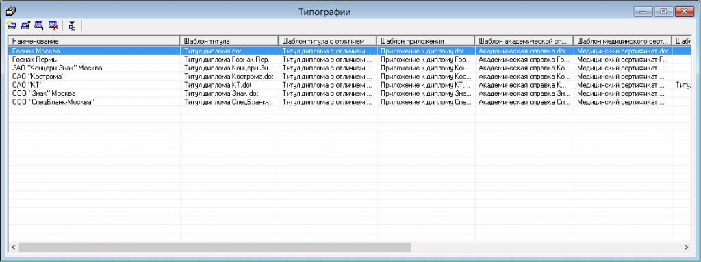 Инструкция по добавлению новых шаблонов Справочник Типографии программа Диплом стандарт ФГОС СПО