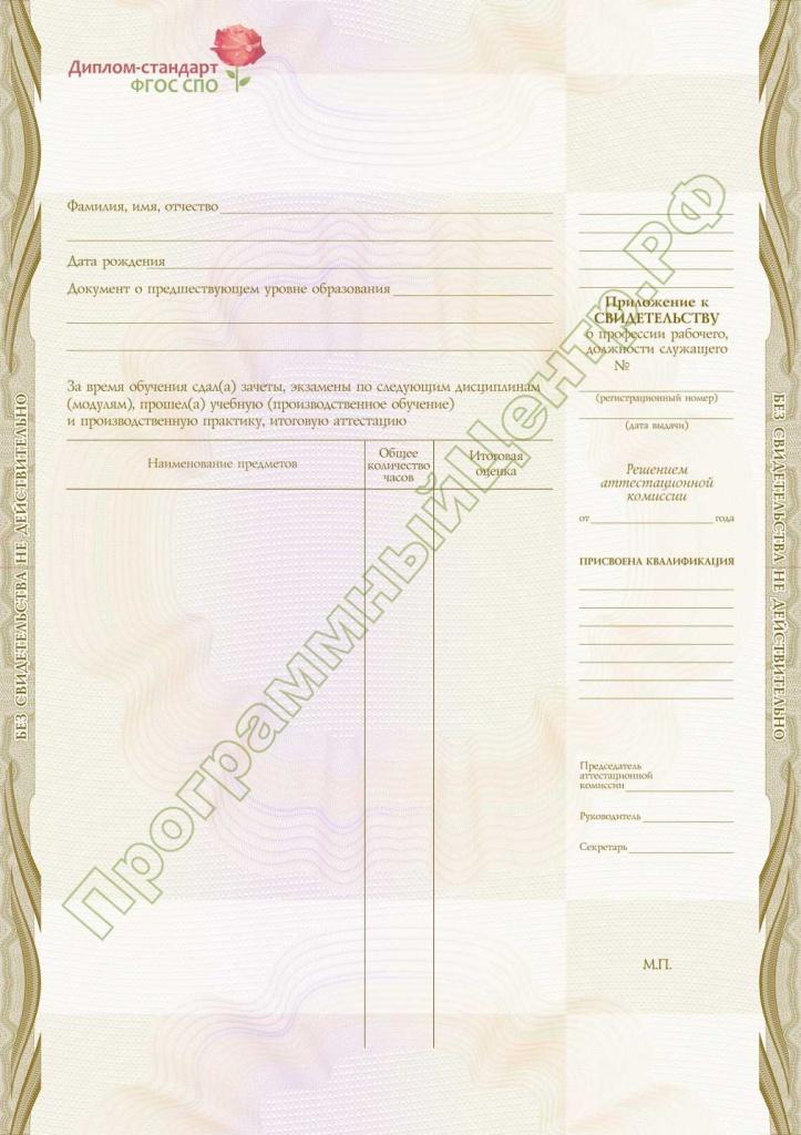 Диплом стандарт ФГОС СПО 8n m jpg 8 1n m jpg