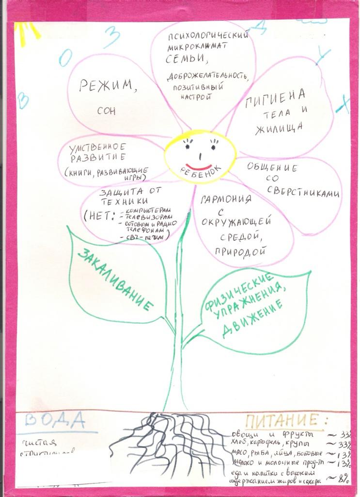 """""""Цветок здоровья"""", Латохина Виктория"""