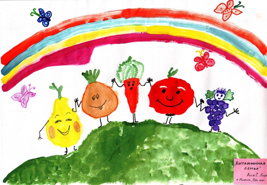 Рисунок на тему путешествие в страну здоровья
